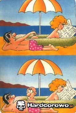 Przestroga dla plażowiczów - 1