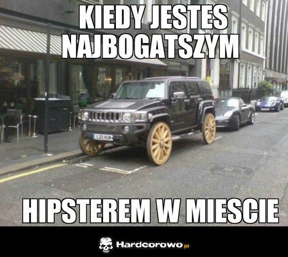 Najbogatszy hipster w mieście - 1