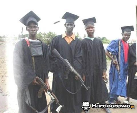 Dzień ukończenia studiów w Somalii - 1