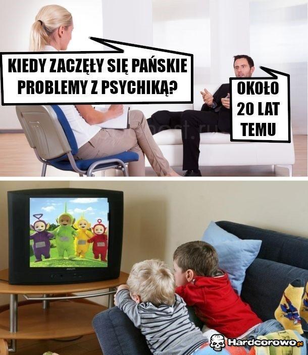 Problemy z psychiką - 1