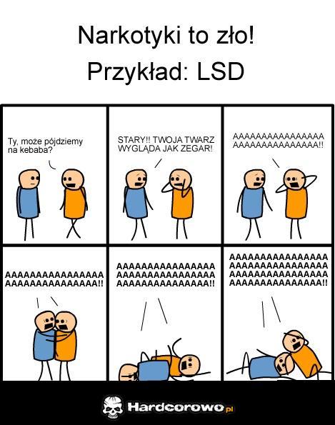 Narkotyki to zło! - 1