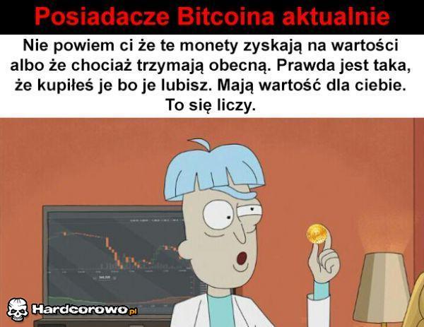 Posiadacze Bitcoina  - 1