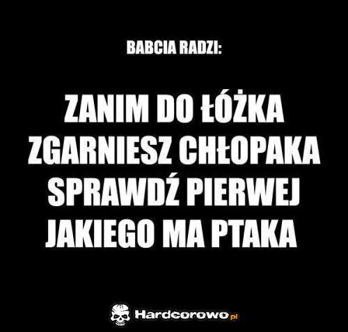 Babcia radzi - 1