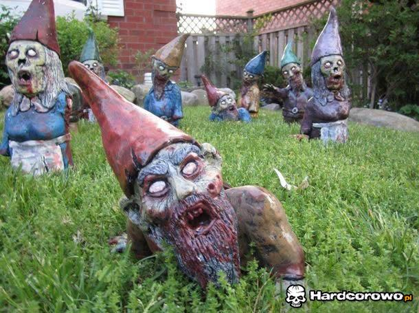 Krasnoludki zombie  - 1