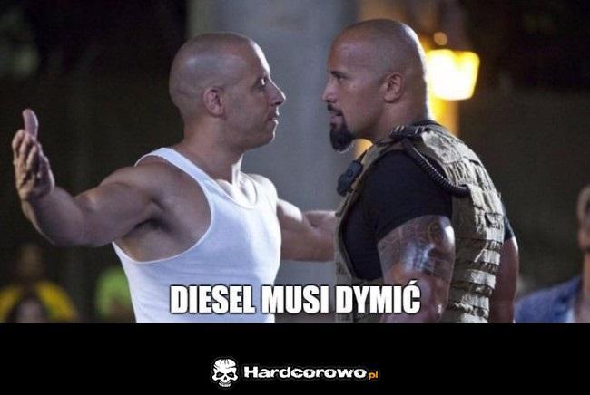 Diesel musi dymić - 1