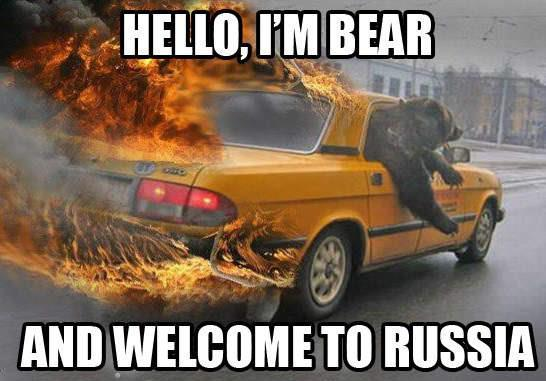 Welcome to Russia - 1
