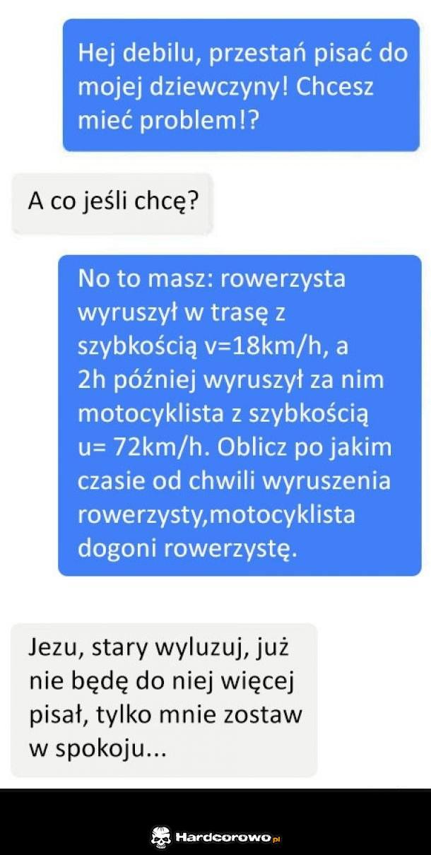 No to ma problem - 1