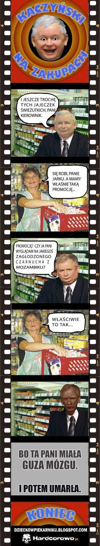 Kaczyński na zakupach - 1
