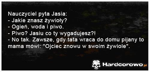 Nauczyciel pyta Jasia - 1