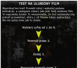 Test na ulubiony film