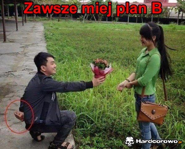 Zawsze miej plan B - 1