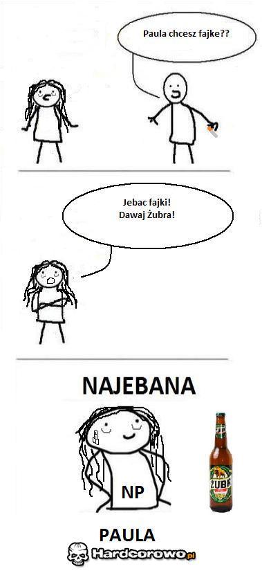 Najebana Paula - 1
