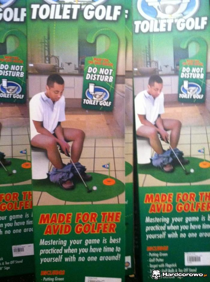 Toilet golf - 1