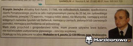 Król Polski - 1