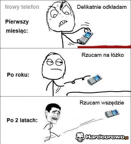 Nowy telefon - 1