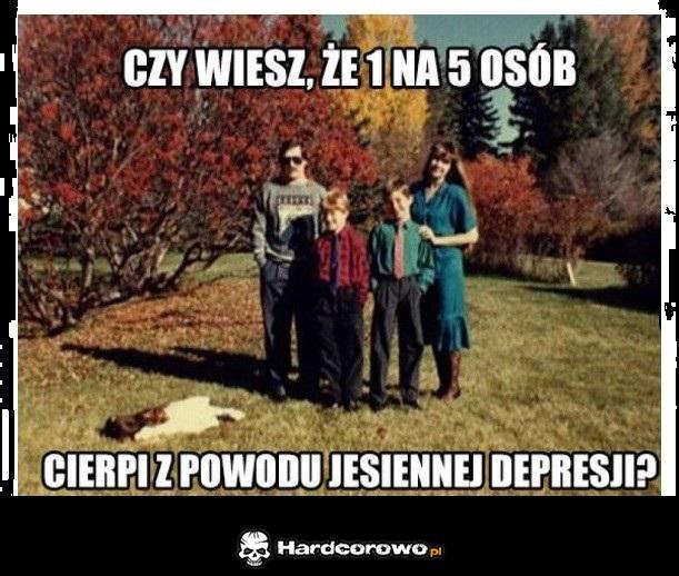 Jesienna depresja - 1