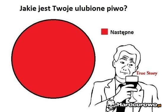 Ulubione piwo - 1