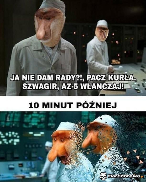 Janusze w Czarnobylu - 1