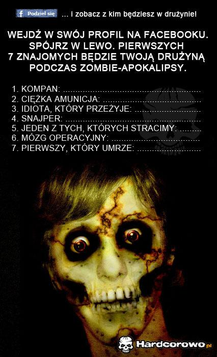 Zombie apokalipsa nadchodzi! - 1