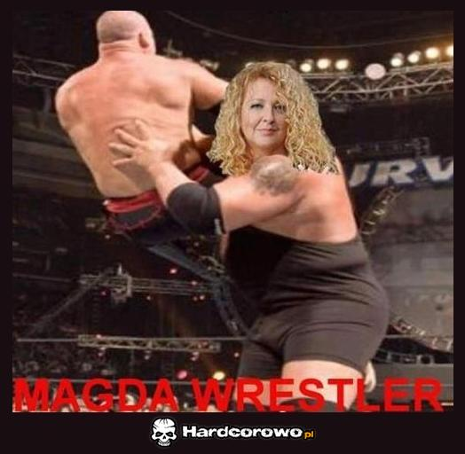 Magda Wrestler - 1