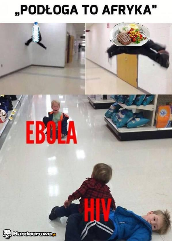 Podłoga to Afryka - 1