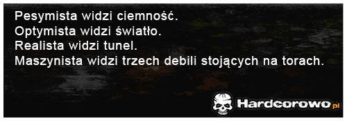 Pesymista widzi ciemność - 1